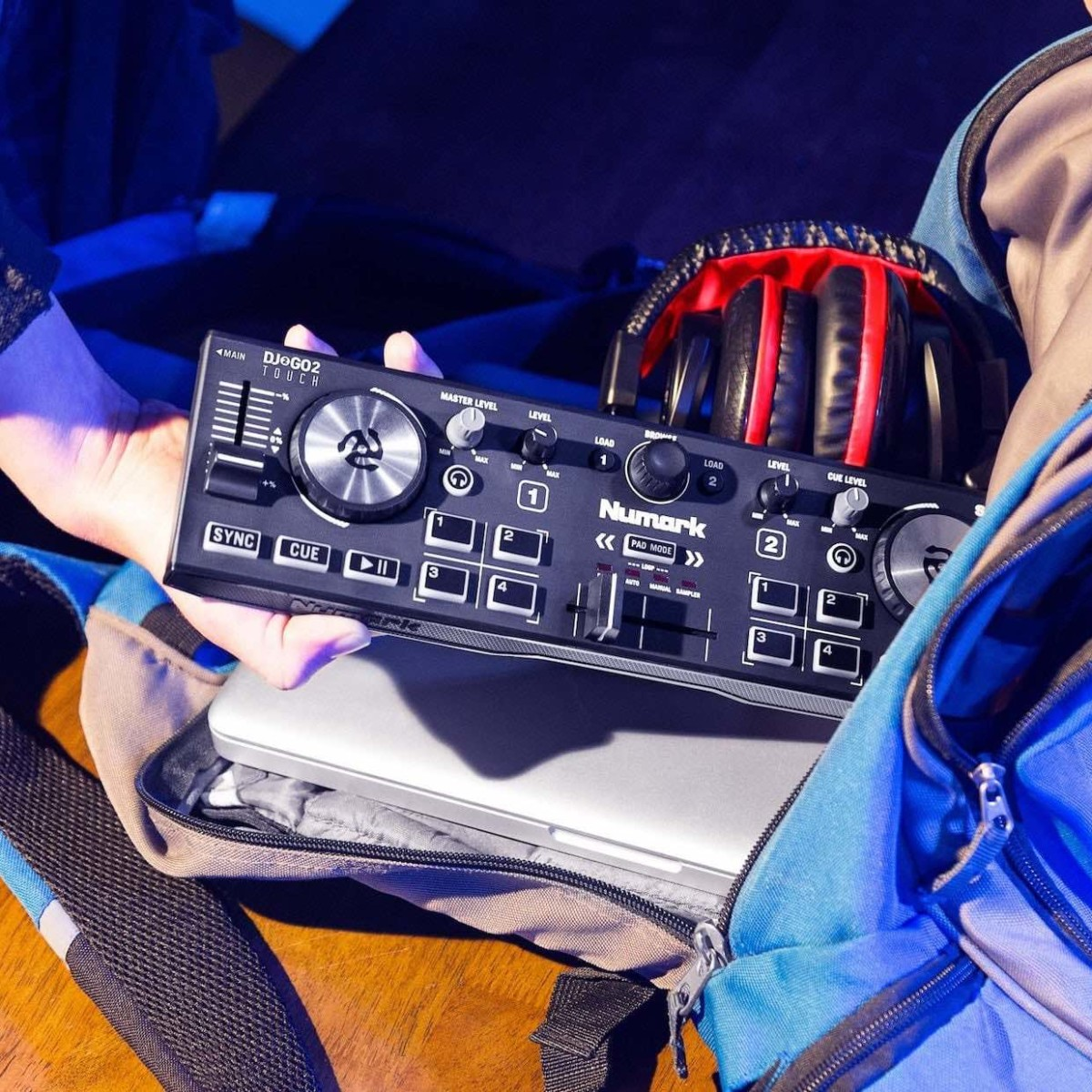 Numark DJ2GO2 Touch Pocket DJ Controller lets even amateurs get in on scratching and looping