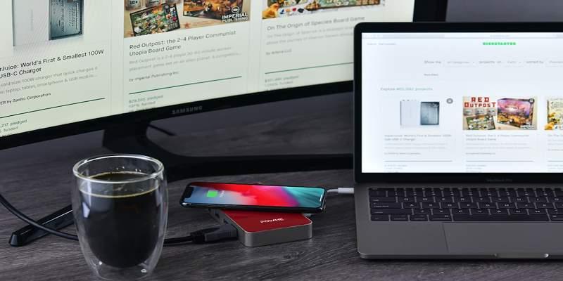 POWME USB C Hub Charger