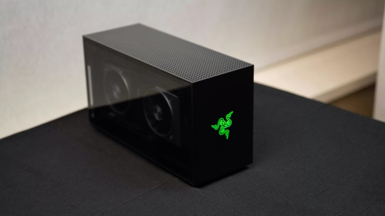 Razer Tomahawk Gaming Desktop & Chassis can come fully built or for you to DIY