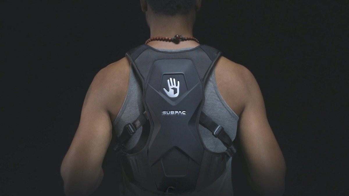 SUBPAC S2 Tactile Bass System lets you truly feel the sound on your seat back