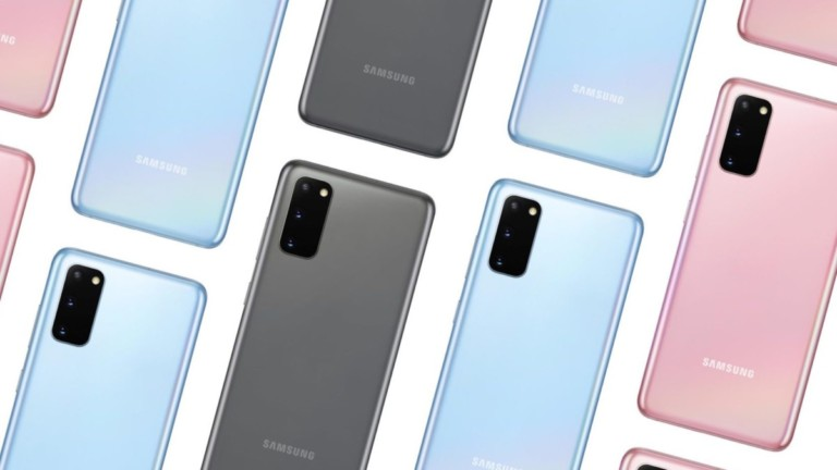Samsung Galaxy S20 and S20+ Series 5G Edition Smartphones