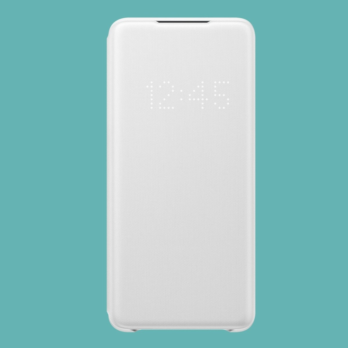Samsung Smart LED View Cover Galaxy S20 Series Case displays notifications