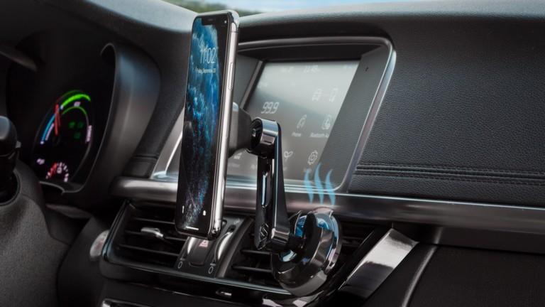 Scosche Fresche Smartphone Vent Mounts make sure your car always smells delightful
