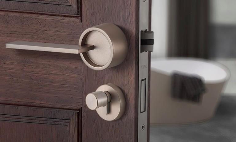 Split-Style Security Door Lock secures your main door in style