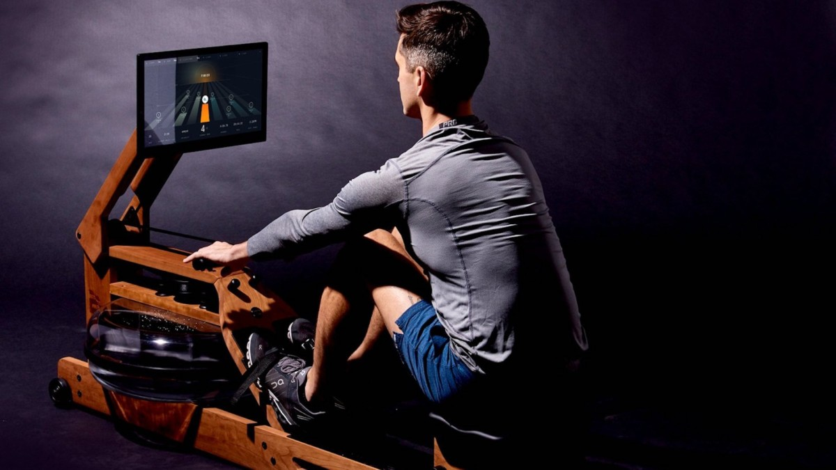 The Ergatta Rower Gaming Workout Machine gives you fun and challenging exercises to complete