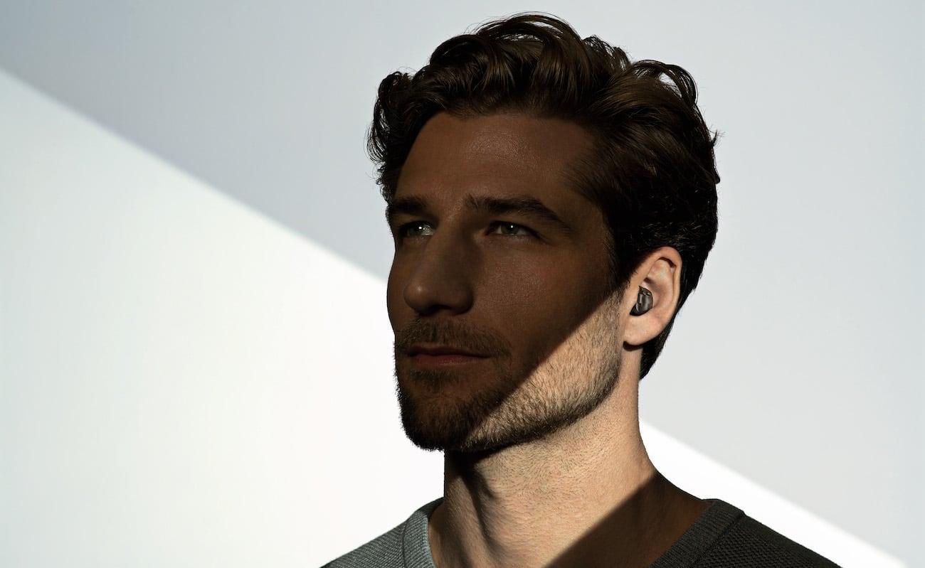 Virto Black Assistive Hearing Device isn't your grandpa's hearing aid