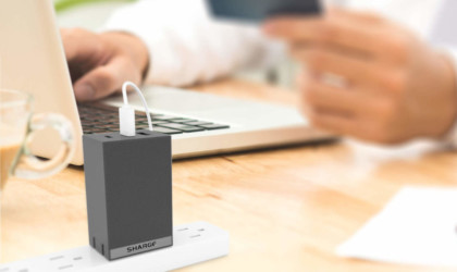 Sharge 3-Port 65W Laptop and USB Wall Charger