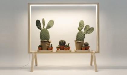 GreenFrame Potted Plant Room Divider