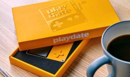 Playdate Handheld Gaming System