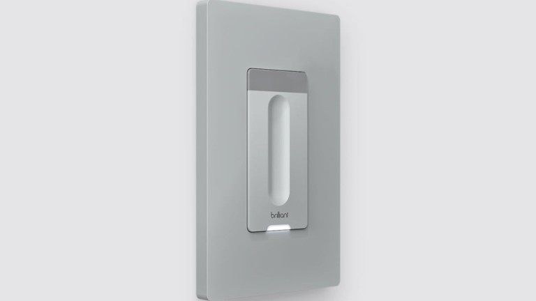 Brilliant Smart Dimmer Integrated Light Switch