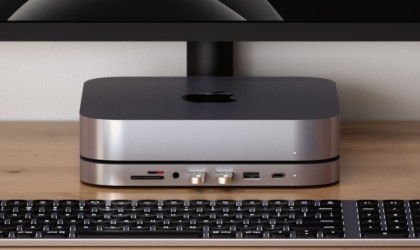 Satechi Type-C Aluminum Stand & Mac Mini Hub