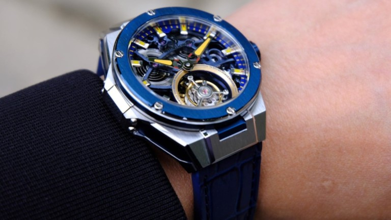 This premium luxury watch will make you feel like Harvey Spector