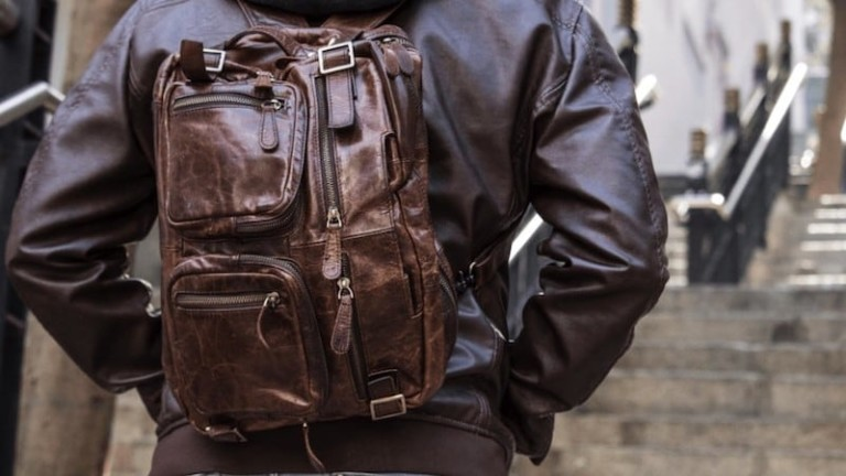 TANTUM from Hyde Reimagined Classic Leather Bag