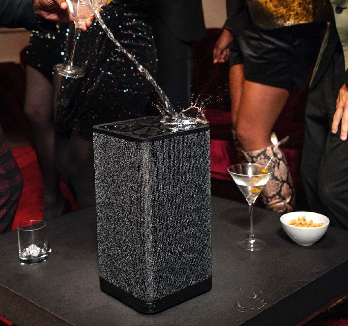 Ultimate Ears HYPERBOOM 360º Speaker uses adaptive EQ tech to enhance your parties