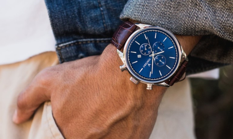 This elegant timepiece will bring luxury to your everyday life
