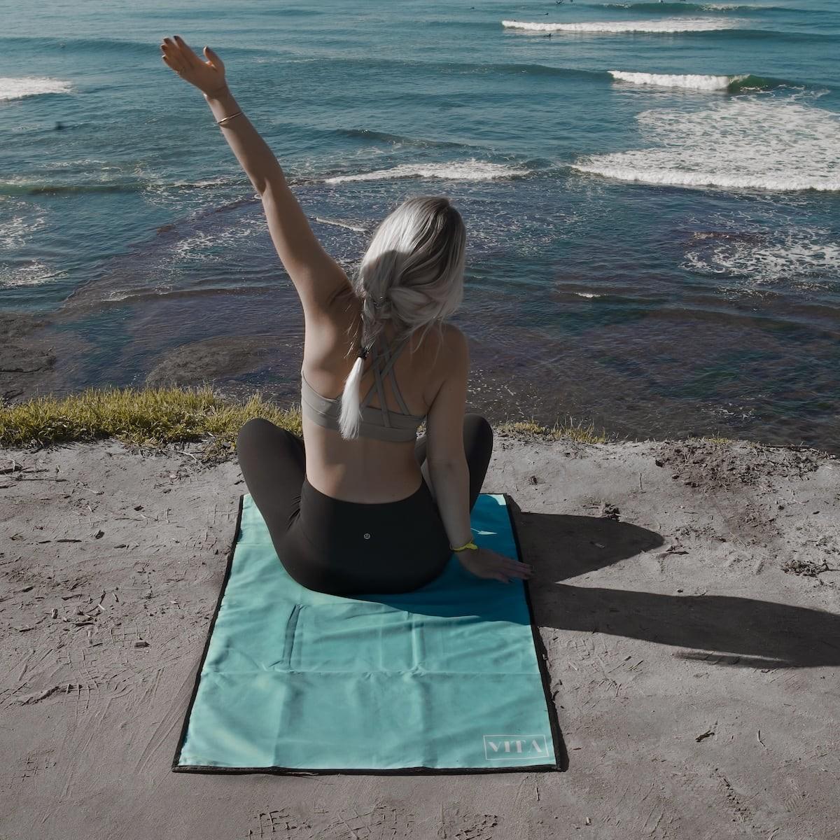 Vita Antibacterial Gym Towel keeps you healthy and germ-free