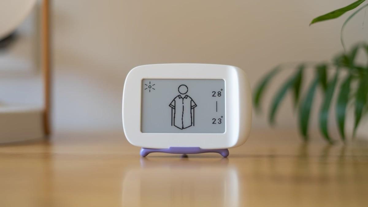 Weathery Visual Weather Device