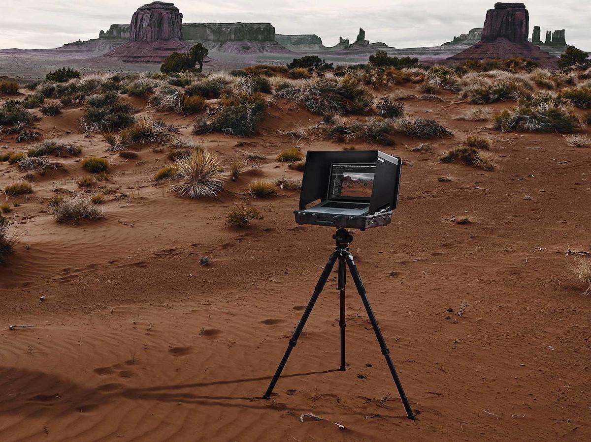 iWorkCase V3 MacBook Pro DigiCase DIT Workstation helps you shoot anywhere