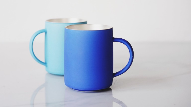 Ag+CUP Handmade Silver Cup incorporates history in its beautiful design