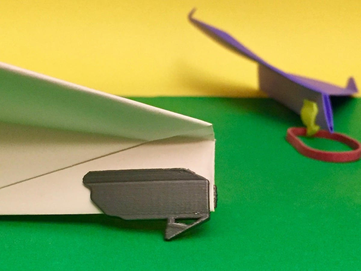 Airbander Paper Airplane Accessory helps your planes fly better