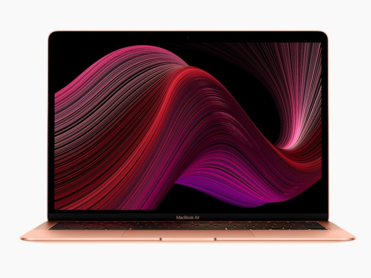 Apple MacBook Air 2020 Version Laptop has a Retina display with 4 million pixels