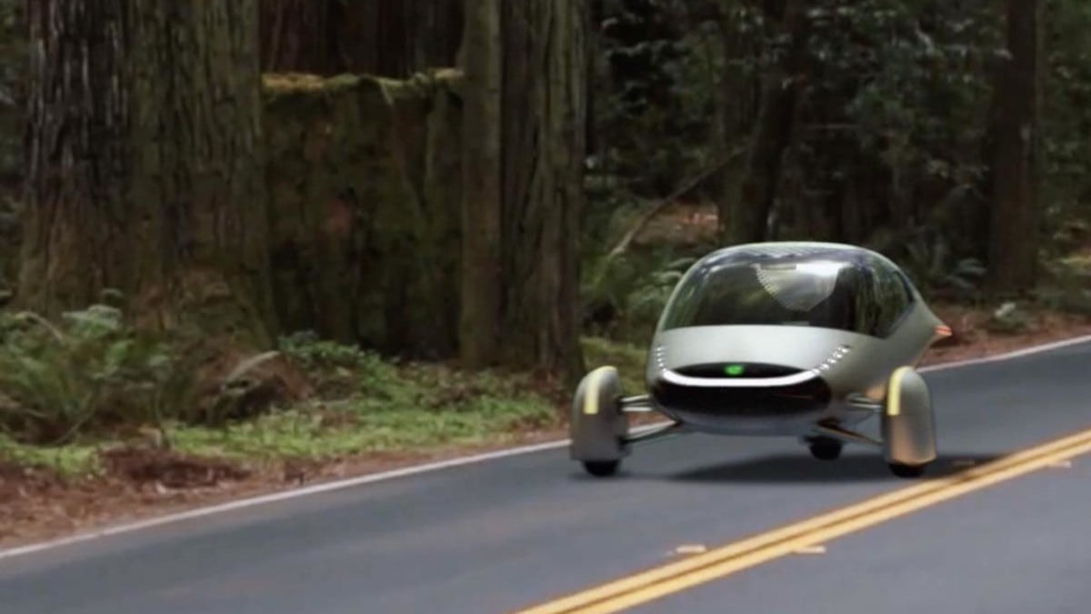 Aptera Solar-Charging Electric Vehicle