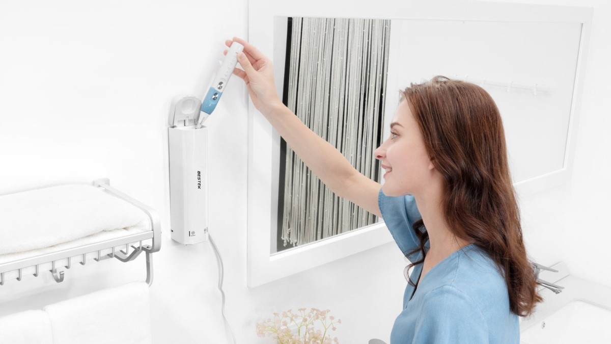 Bestek M-Care UV Light Electric Toothbrush kills 99% of germs