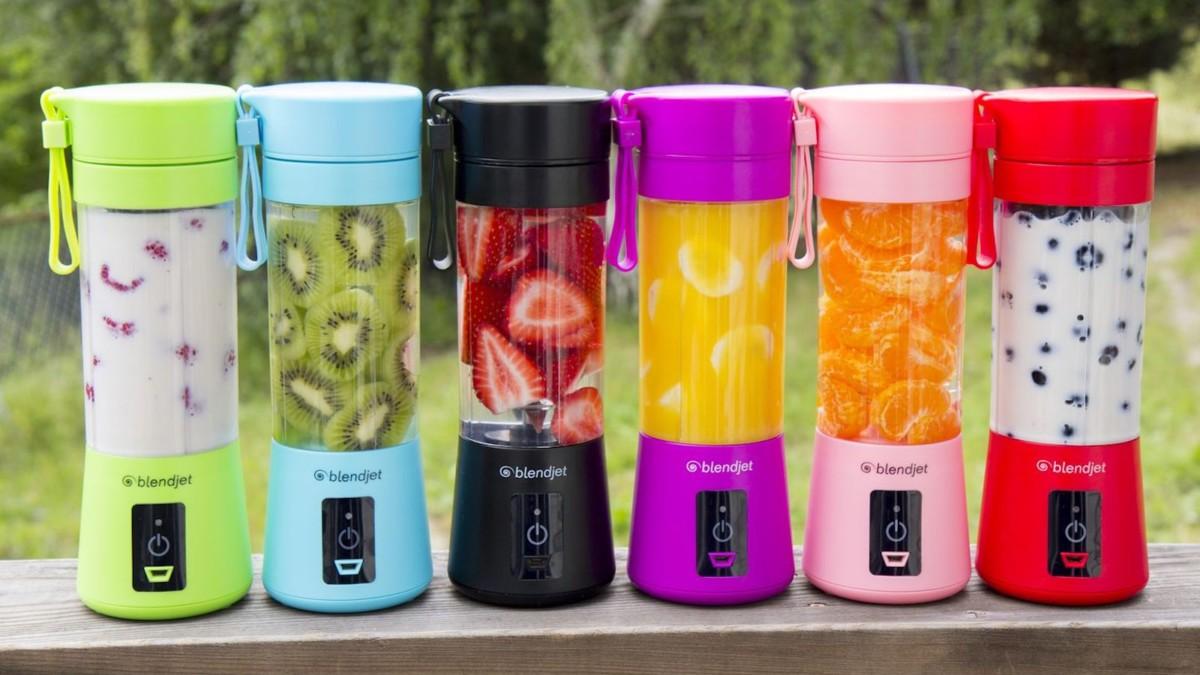 BlendJet One Portable Blender lets you make smoothies on the go