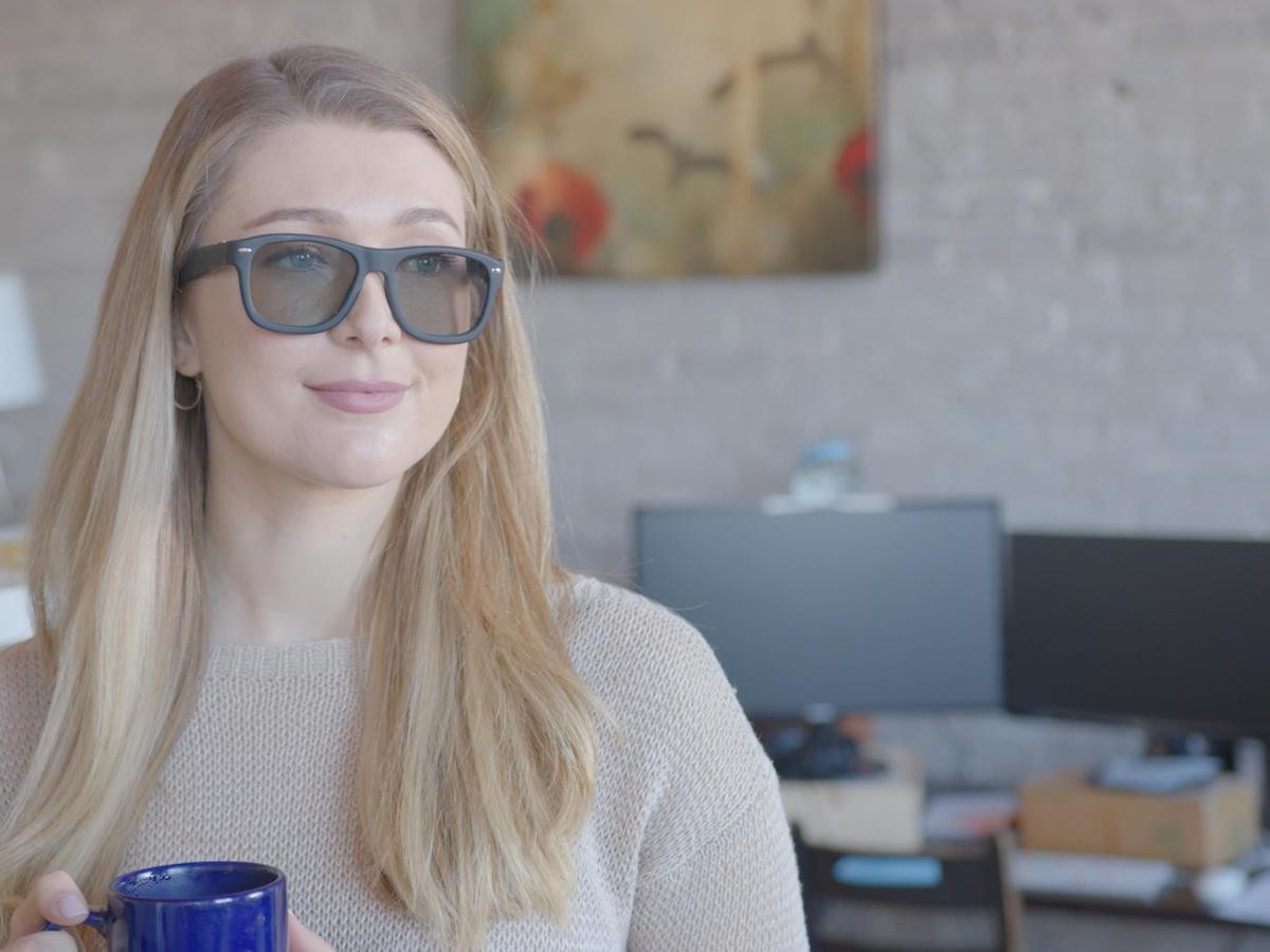 Blueberry Stress-Reducing Smart Glasses help you understand your mental effort