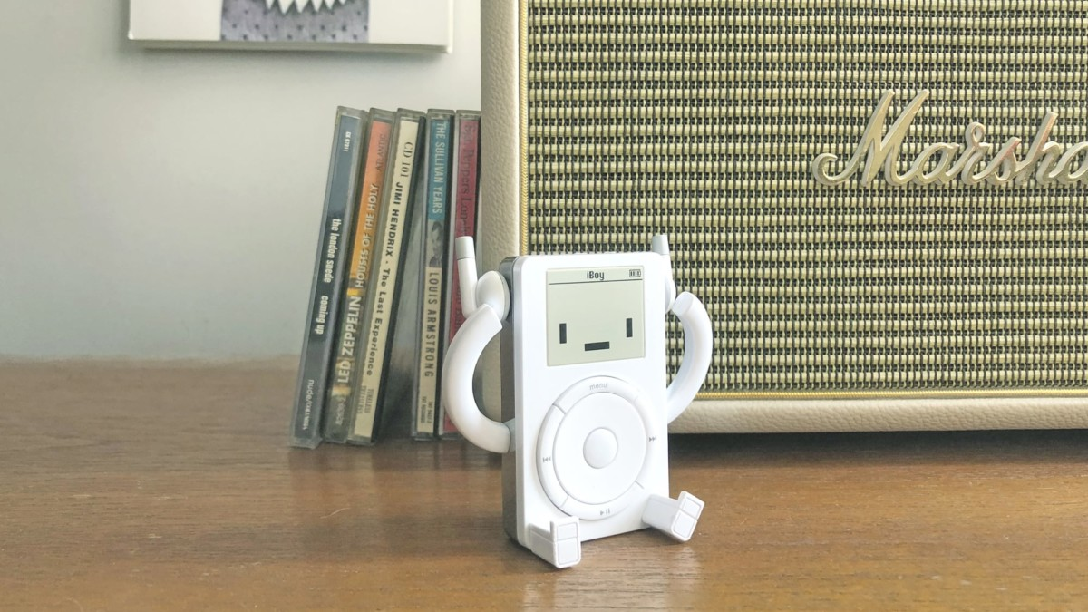 Classicbot iBoy Retro Toy is an iconic MP3 player figurine