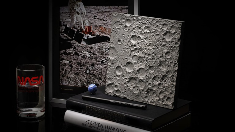 DeskSpace Lunar Surface Accessory is perfect for any space enthusiast