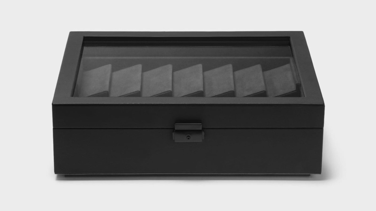 Drop Cache Display Valet EDC Case holds all of your daily belongings