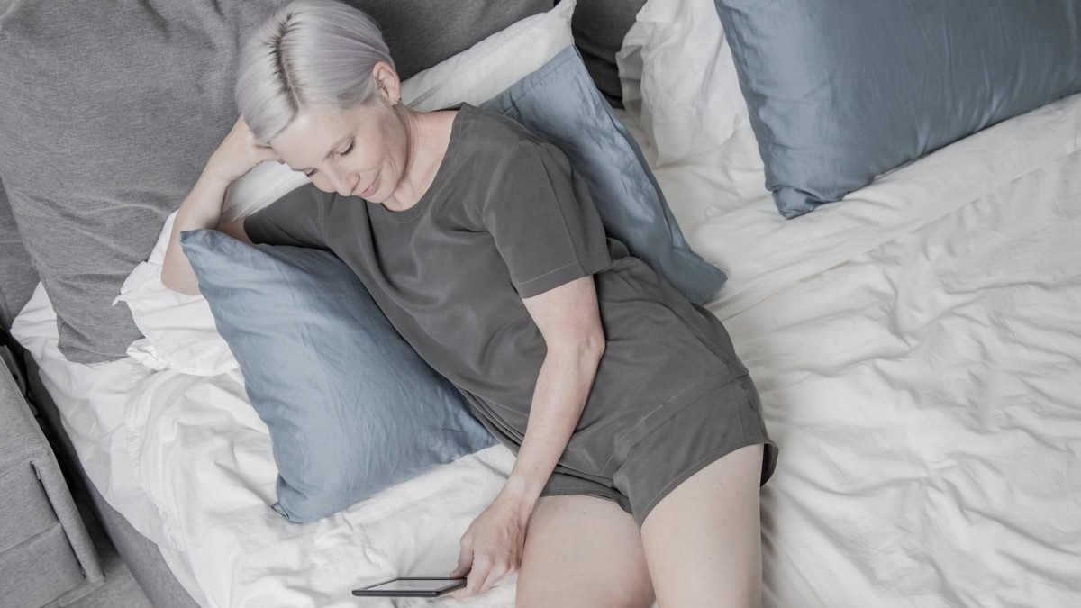 Equilibrium Sleep Set Technical Sleepwear helps you get the best rest possible