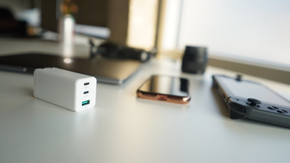 Fledging VITE 65W Tiny GaN Charger keeps all of your gadgets powered up all the time