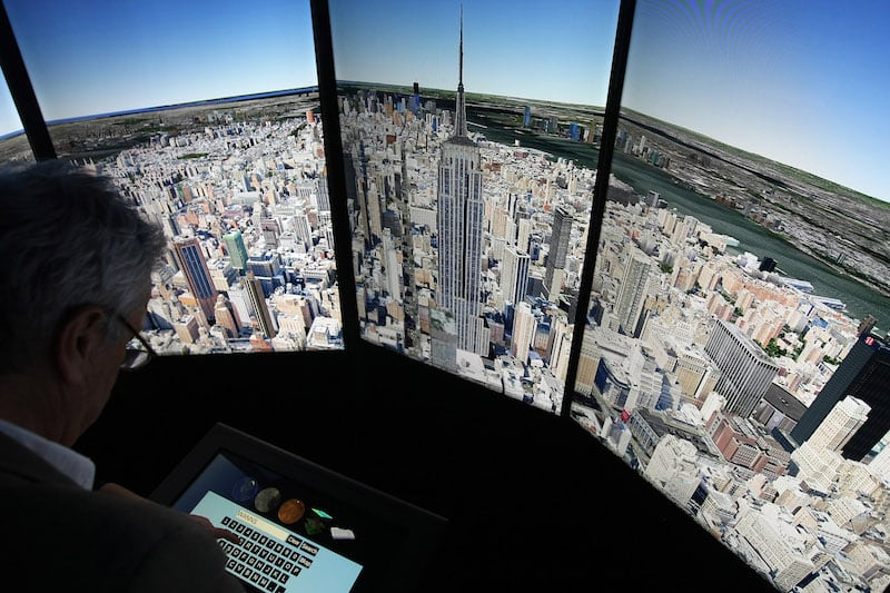 Google Earth Virtual View for HCL