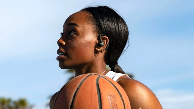 JLabAudio Epic Air Sport Water-Resistant Earbuds have up to 70 hours of battery life