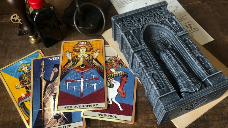 Keymaster Tarot Card Deck is the historic way to do a reading