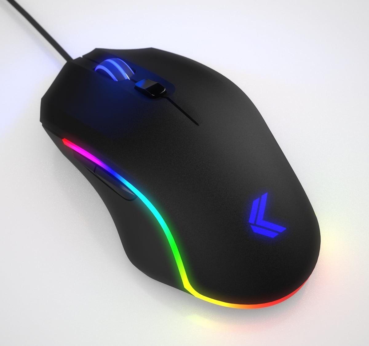 Kinesis Gaming Vektor RGB Programmable Gaming Mouse has an ergonomic shape for smaller hands