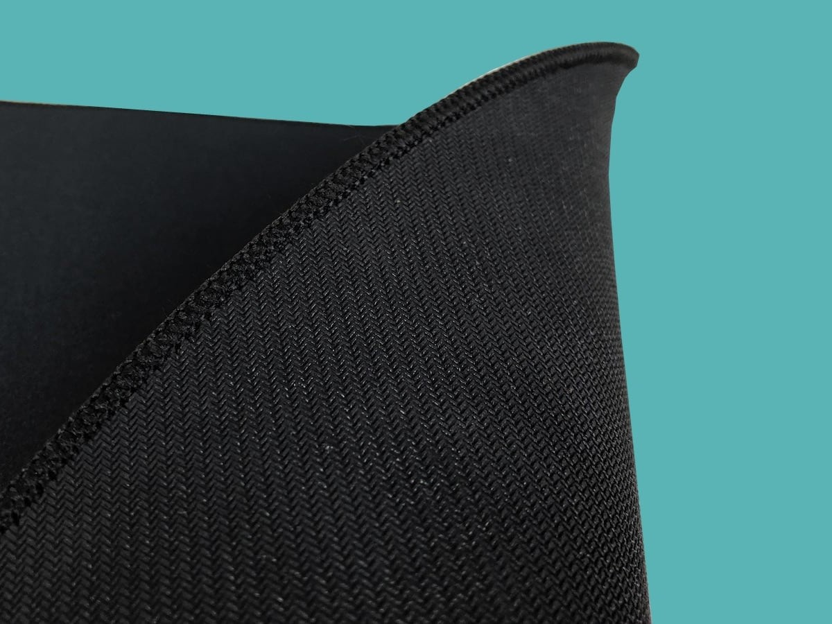 Kinesis Gaming XL Mouse Pad Gaming Desk Mat has a durable, anti-fray stitched edge