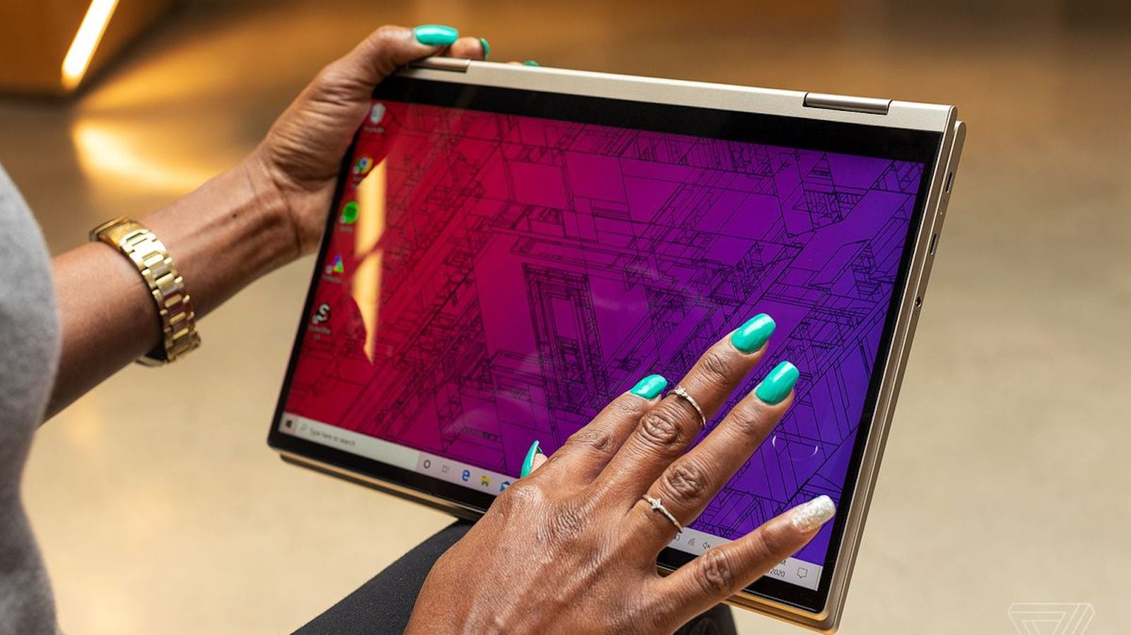 Lenovo Yoga C740 Responsive Touchscreen Laptop looks sleek at an affordable price