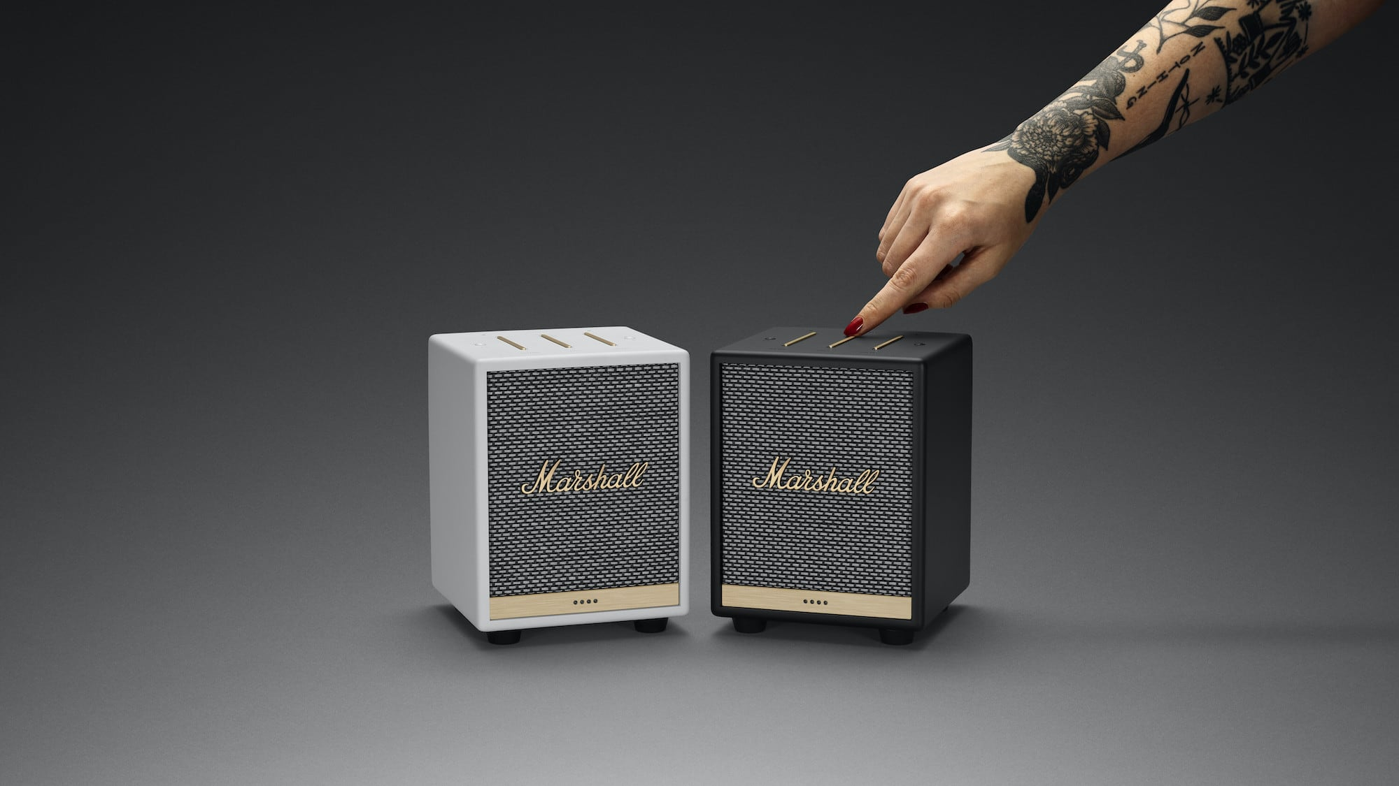 Marshall Uxbridge Voice Compact Alexa Speaker lets you multitask completely hands-free