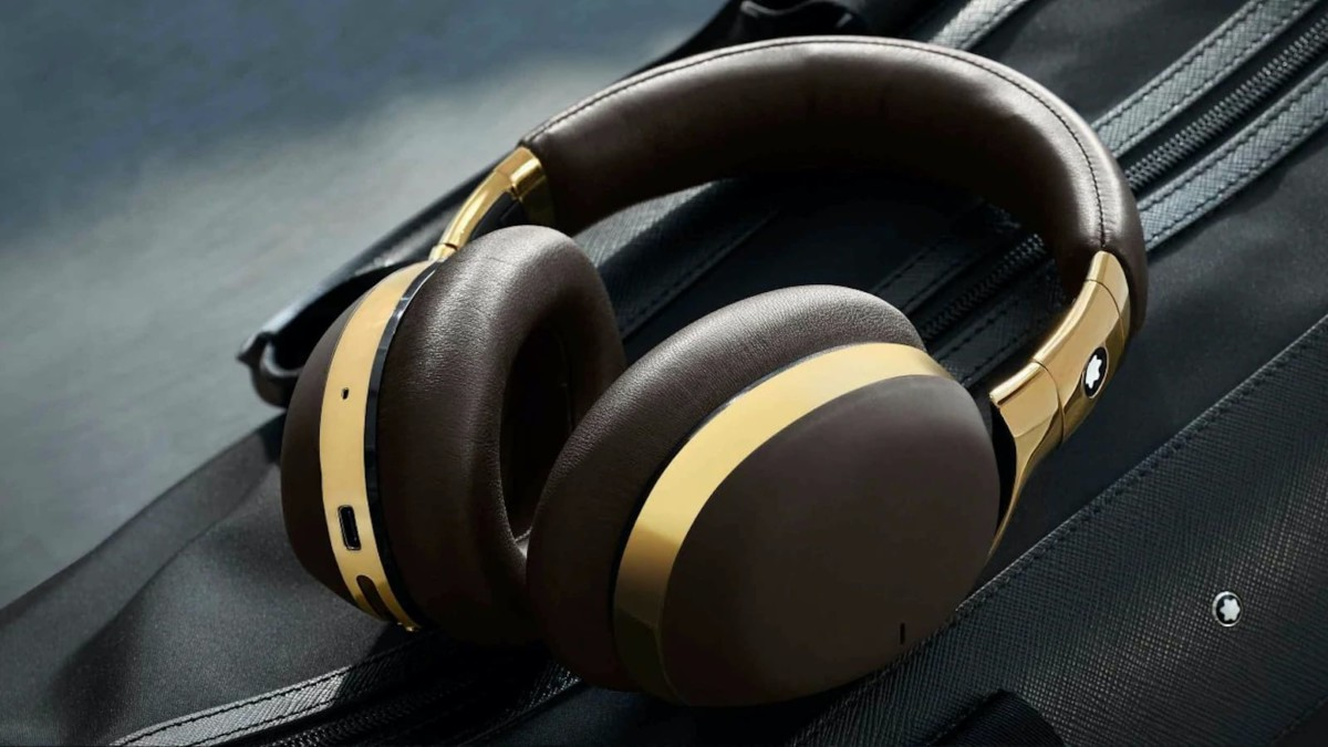 Montblanc MB 01 Wireless Aluminum Headphones are the epitome of luxury