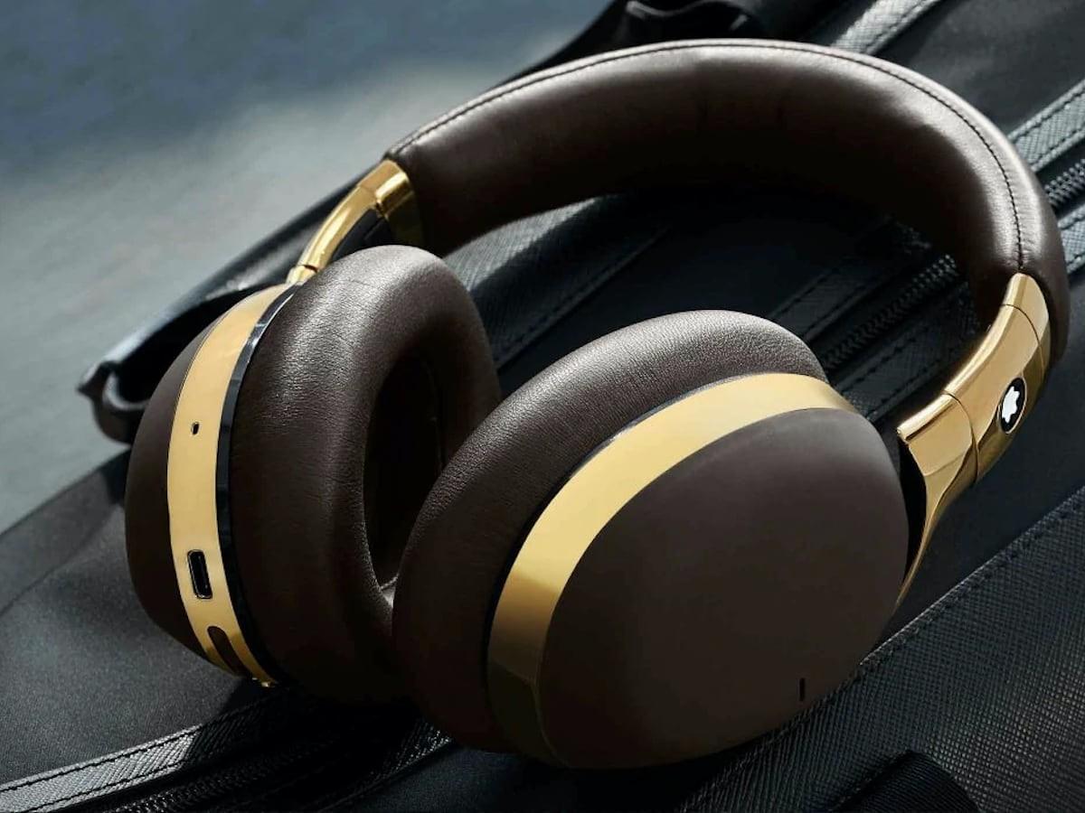 Montblanc MB 01 Wireless Aluminum Headphones are the epitome of luxury