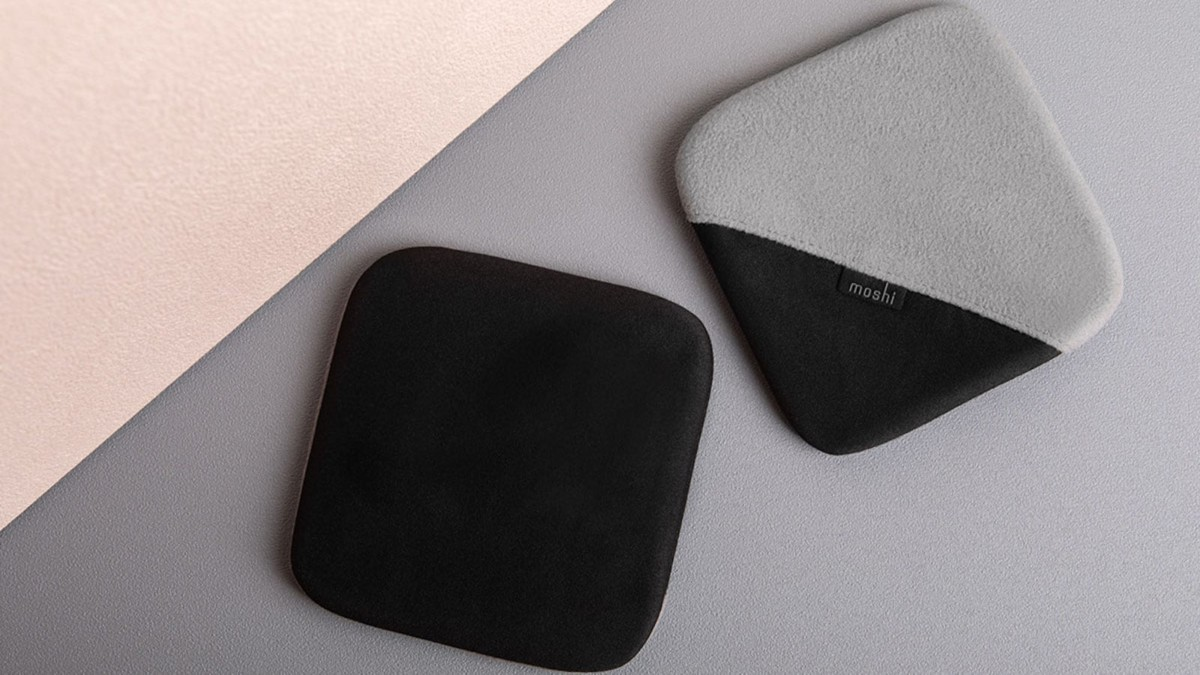 Moshi TeraGlove Microfiber Screen Cleaner Cloth keeps all your displays nice and clear