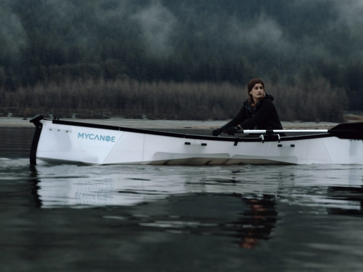 MyCanoe POP Portable Folding Canoe assembles like origami in just 5 minutes