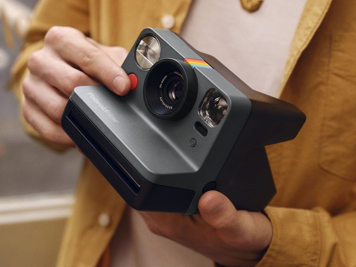 Polaroid Now Autofocusing Instant Camera lets you point and shoot action shots