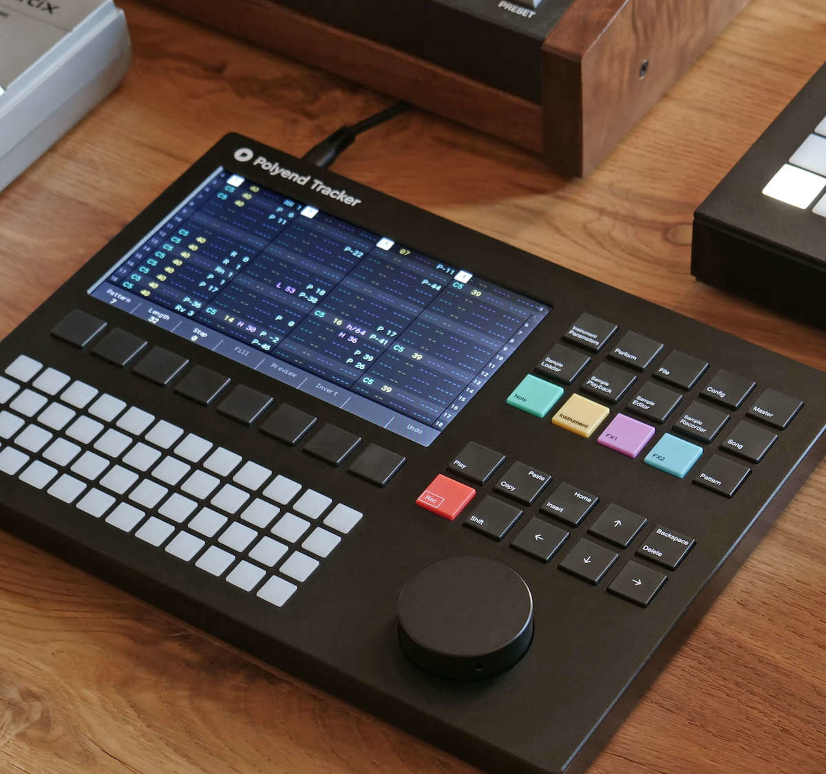 Polyend Tracker standalone audio workstation has a retro design with modern abilities