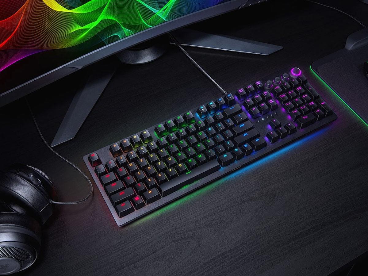 Razer Huntsman Elite Opto-Mechanical Switch Keyboard responds to even the quickest of taps