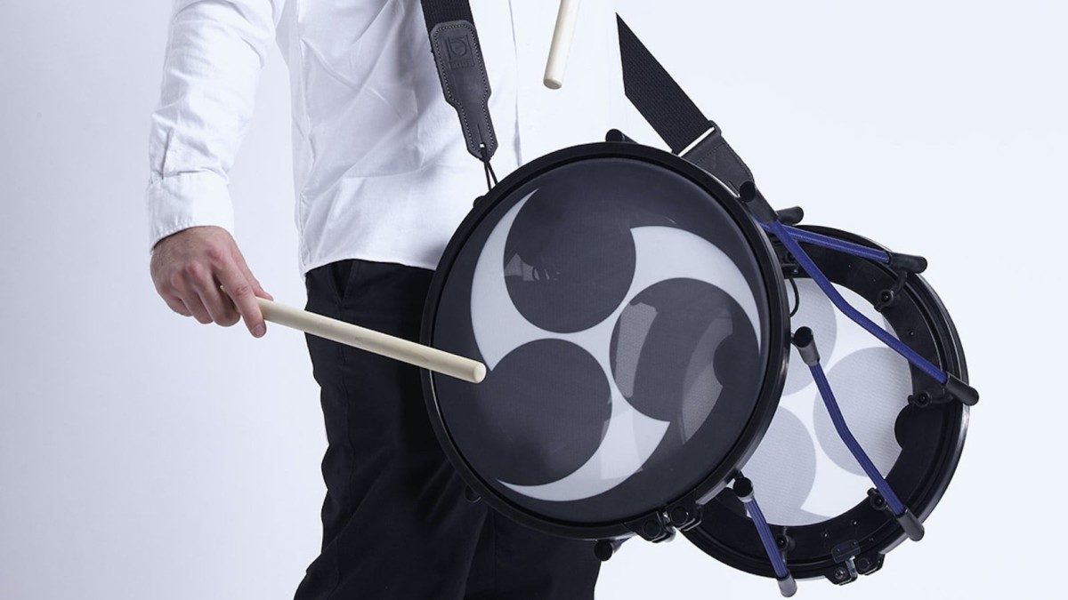 Roland TAIKO-1 Electronic Taiko Percussion mixes classic Japanese tradition with modern elements