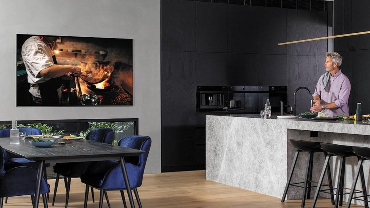 Samsung Q800T 8K Television Setup